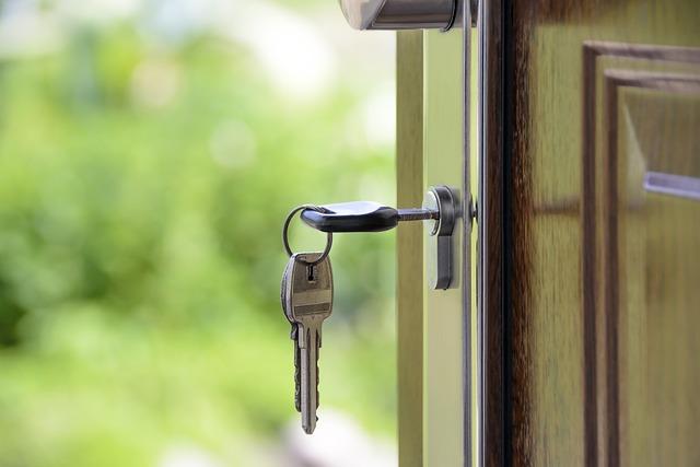 House, Keys, Key, The Door, Castle, The Background