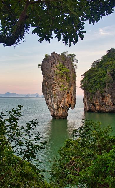 Khao Phing Kan, James Bond Island, Pinnacle, Khao Ta-pu