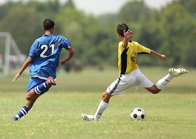 Soccer, Football, Soccer Players, Kick, Kicking