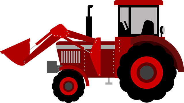 Tractor, Farm, Kid, Agriculture, Rural, Field