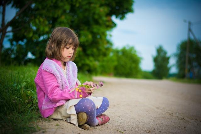 Baby, Childhood, Kids, Small Child, Road, Carelessness