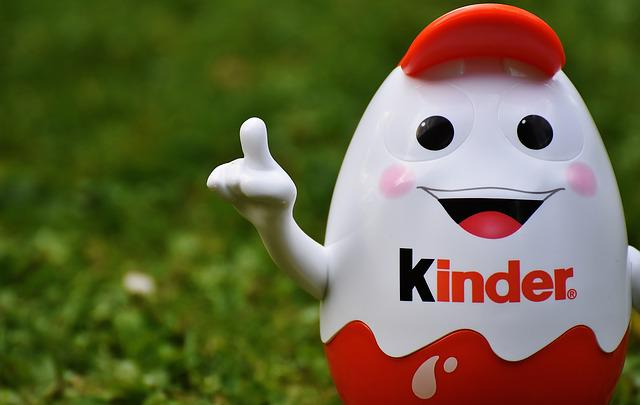 Kids Chocolate, Children, Egg, Piggy Bank, Funny, Cute