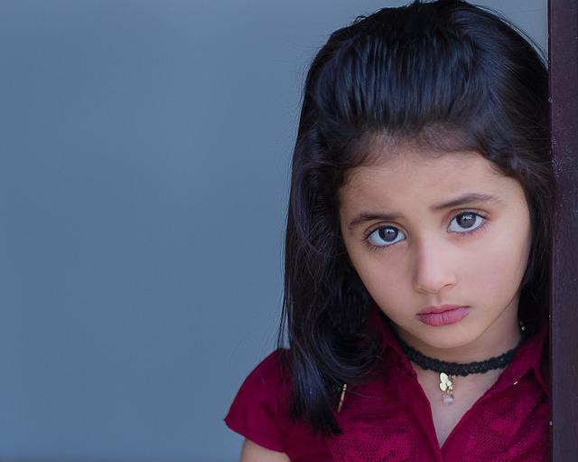 Portrait, Kids, Sad, Child, Childhood, Little, Female