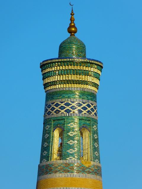 Khiva, Kihva, Minaret, Chodja Islam Minaret