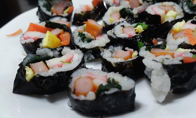 Sushi, Kim Rice, Restaurant