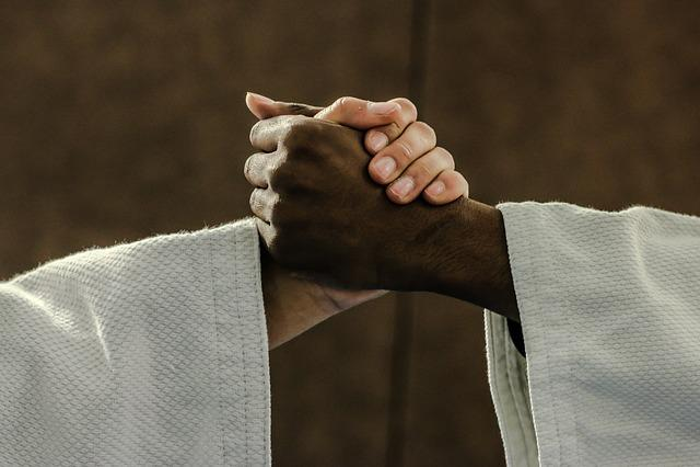 Judo, Hands, Kimono