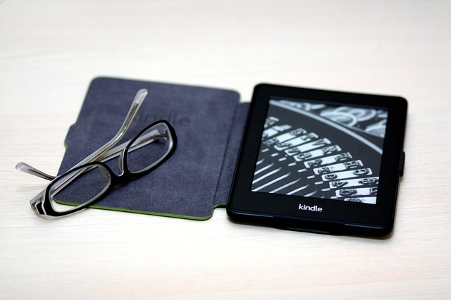 Kindle, Paper White, Book, Device, Glasses, E-book