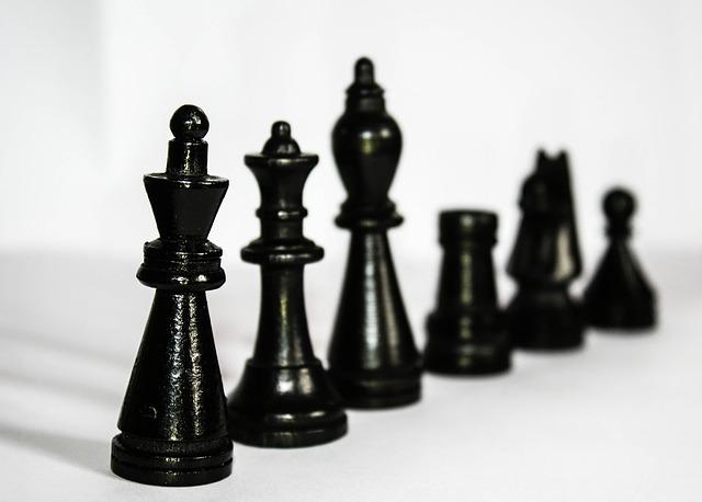 Chess, Figures, Black, Hierarchy, King, Lady, Runners