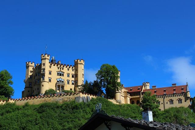 Castle, Fairy Castle, King Ludwig, Sky, Schwangau