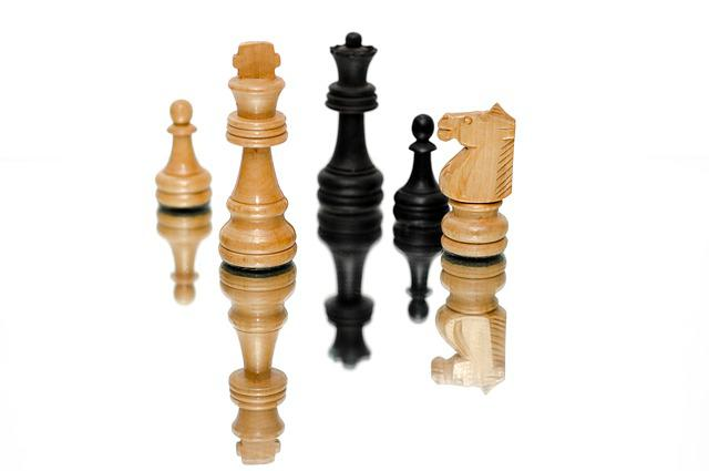 Chess, Pieces, King, Game, Competition, Business, Play