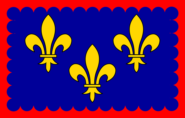 Ile-de-france, Flag, Kingdom Of France, French, Region
