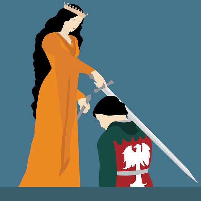 Knight Hood, Queen, Bishop, Princess, Viking, Kingdom