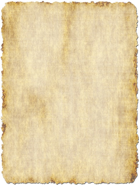 free photo template parchment old map border scroll paper max pixel