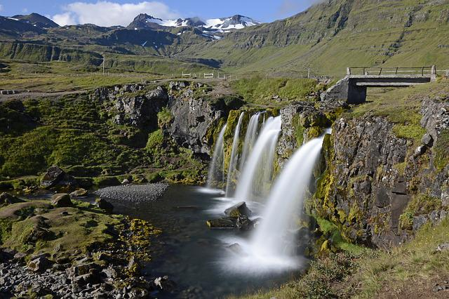Kirkjufellfoss, Waterfall, Flow, Landscape, Nature