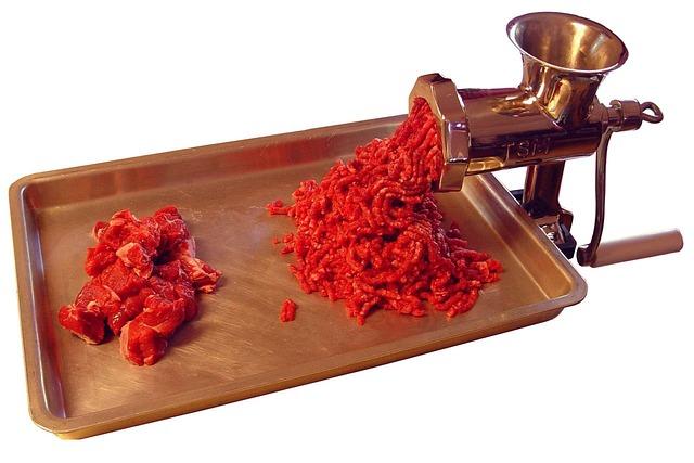 Meat Grinder, Meat Mincer, Kitchen Appliance, Grinder