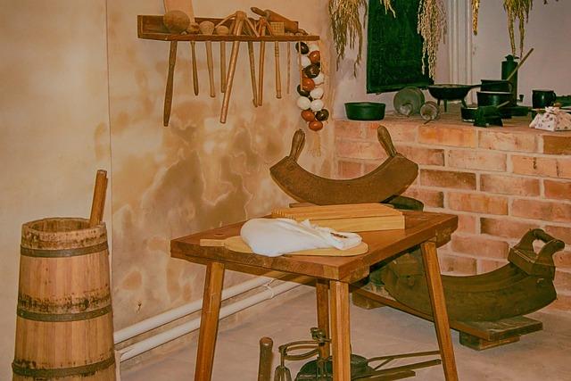 Kitchen, Historically, Kitchen Appliances, Museum