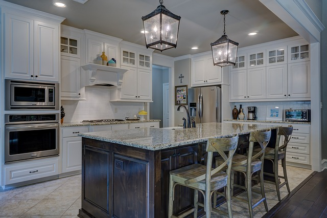Kitchen, Real Estate, Interior Design, Architecture