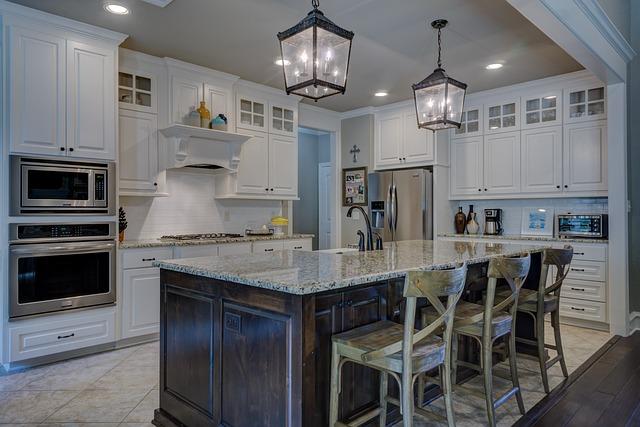 Kitchen, Real Estate, Interior Design, Architecture
