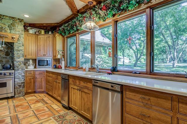 Window, Inside, Indoors, House, Room, Estate, Kitchen