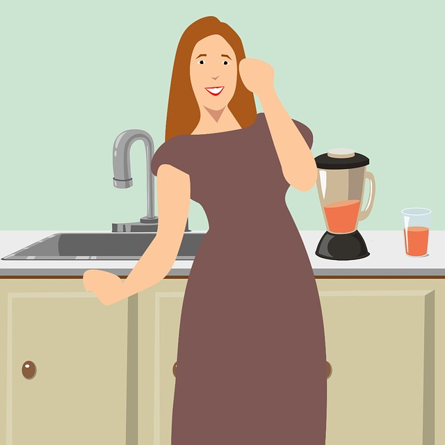 Housewife, Family, Cooking, Kitchen, Wife, Woman