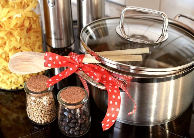 Pot, Kitchen, Cook, Wooden Spoon, Prepare, Eat