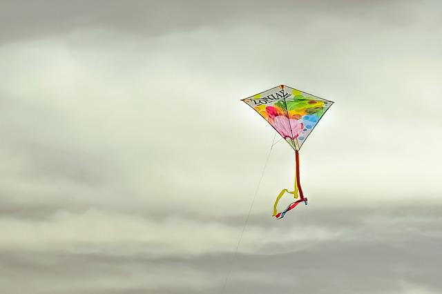 Kite, Colorful, Flying, Fly, Sky, Cloudy, Freedom, Fun