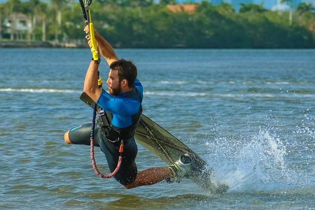 Kite, Kitesurf, Kitesurfing, Sport, Sea, Surf, Wind