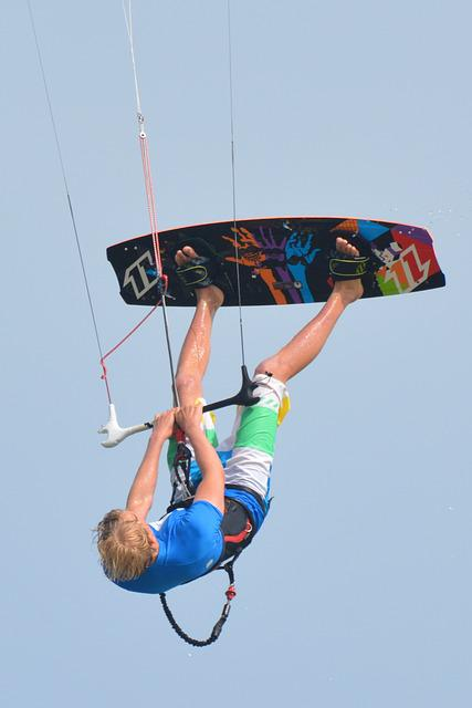 Surf, Kite Surfing, Man, People, Sports