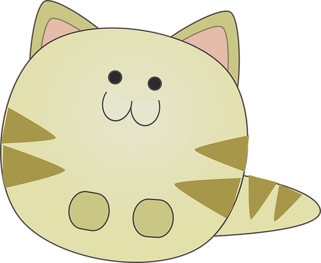 Cartoon, Cat, Cute, Cute Planner Stickers, Kitten