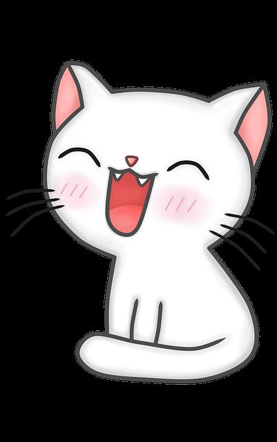 Cat, Feline, Kitten, Tender, Kawaii, Adorable