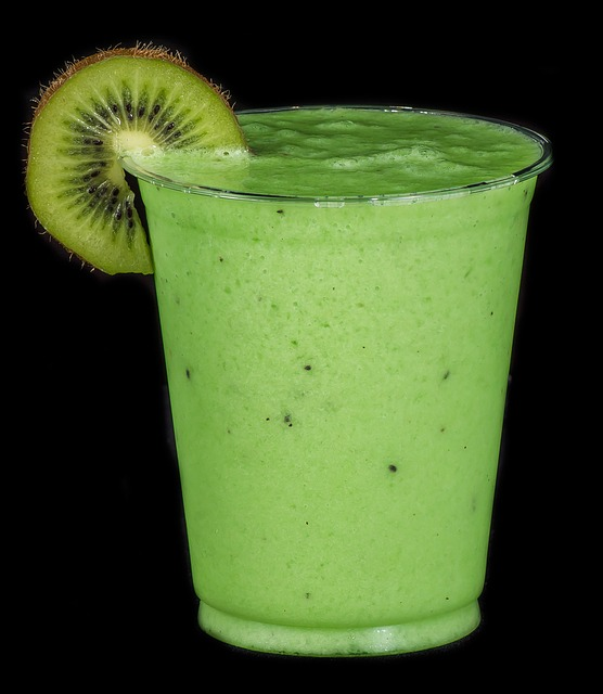 Smoothie Drink, Kiwi, Spinach, Beverage, Detox, Green