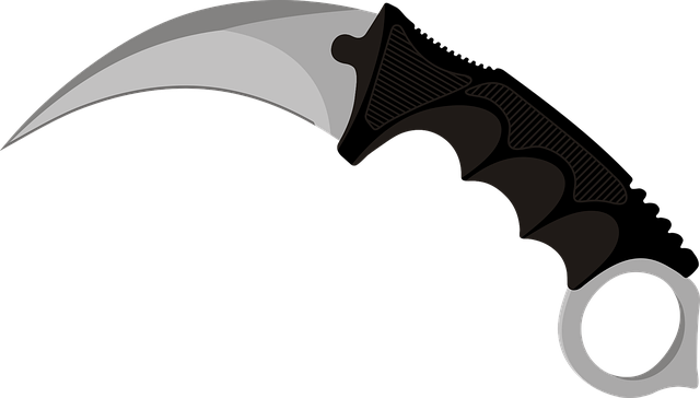 Knife, No Background, Handle, Edge, Karambit, Cs Go