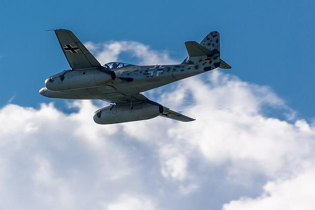 Knife Schmid, Me-262, Ww2, Aircraft, Air Show, Air14