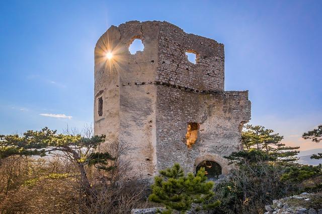 Castle, Burgruine, Castles, Knight's Castle