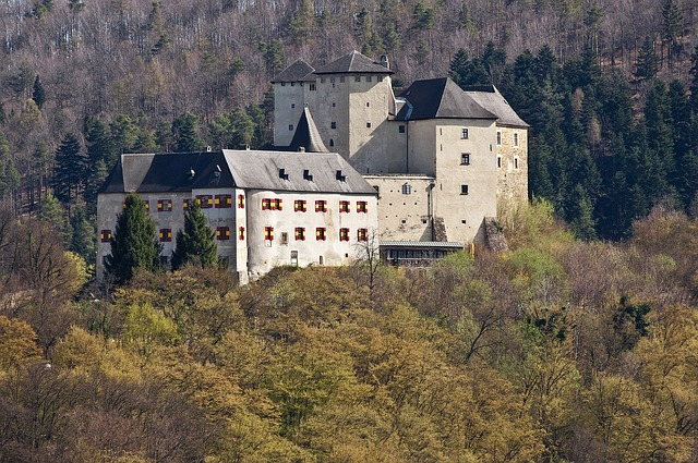 Old, Castle, Knight's Castle, Knights Templar, Home