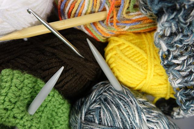 Wool, Knit, Cat's Cradle, Hand Labor, Knitting Needles