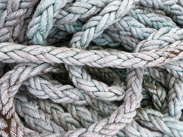 Thaw, Rope, Ship Traffic Jams, Cordage, Knitting