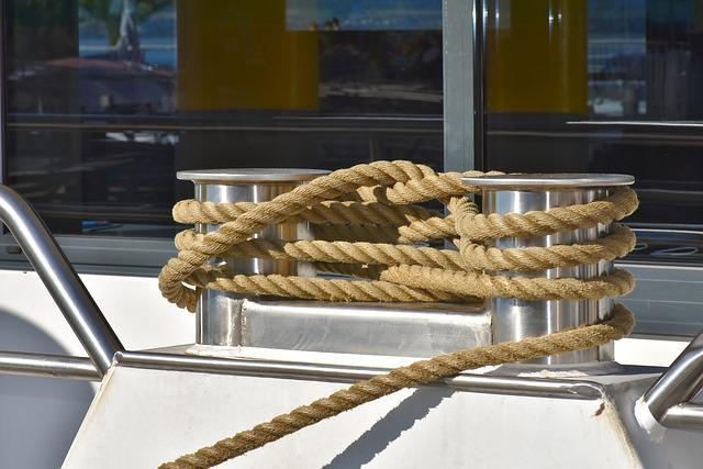 Knot, Hemp Rope, Rope Knot, Barrier, Close Up
