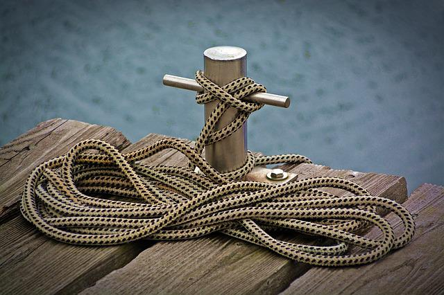 Dock, Rope, Mooring, Lake, Tie, Knot, Anchorage, Port
