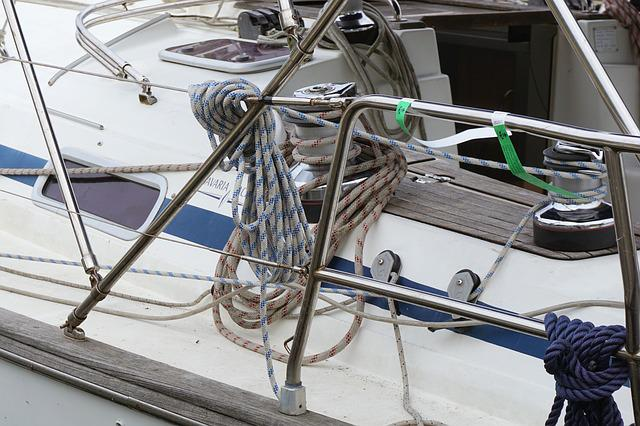 Yacht, Anchorage, Knot, On Leash, Water, Port, Shipping