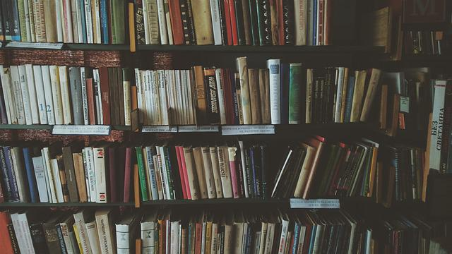 Bookcases, Books, Bookshelves, Knowledge, Library