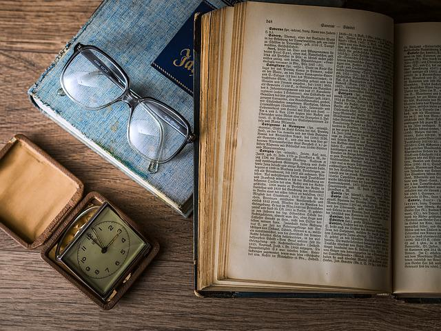 Book, Glasses, Watch, Knowledge, Research, Text, Page