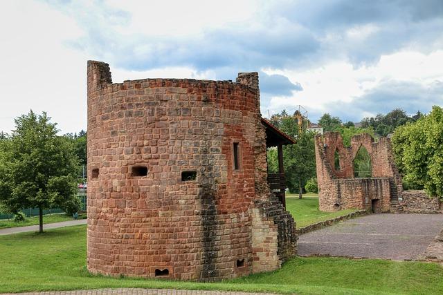 Köllerbach, Püttlingen, Saarland, Ruin, Castle
