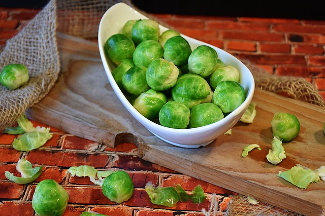 Brussels Sprouts, Vegetables, Kohl, Green