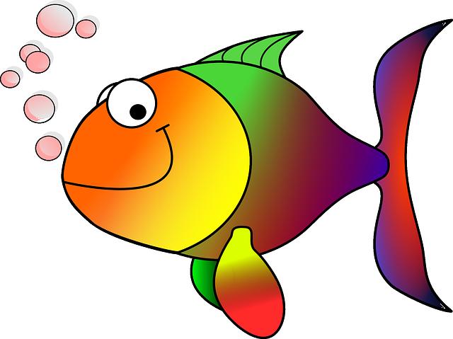 Goldfish, Fish, Koi, Carp, Cartoon Fish, Happy Fish
