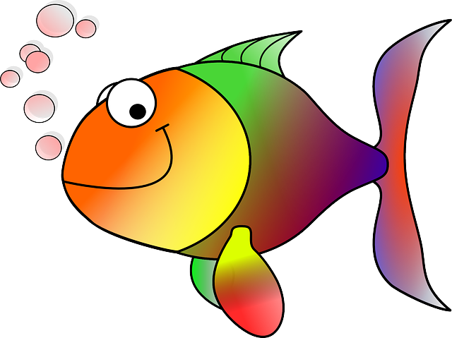 Goldfish, Fish, Koi, Carp, Cartoon Fish, Happy Fish