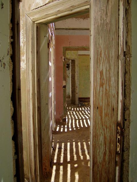 Abandoned, House, Old, Sand, Ghost Town, Kolmanskoppe