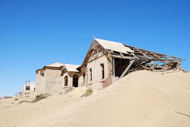 Wuese, Ghost Town, Home, Kolmanskoppe, Leave, Old, Sand