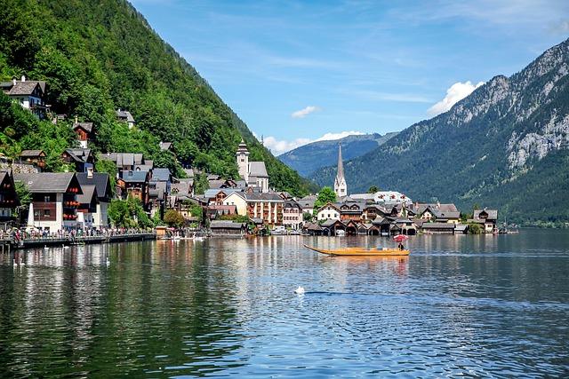 Hallstatt, Open Access, Lake, Komachi, Landscape
