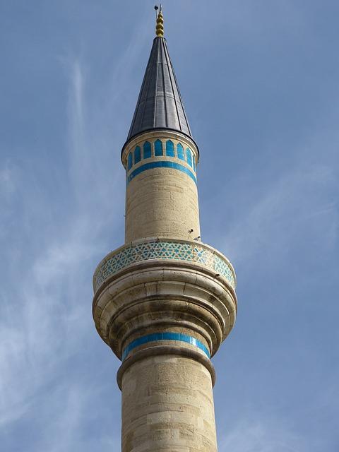 Mosque, Minaret, Konya, Islam